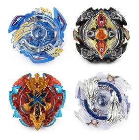 4 Beyblade Storm Burst Metal + 1 Arena + 1 Lançador