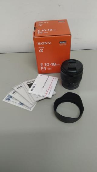 Lente Sony 10-18mm F4 Oss