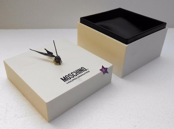 Estuche Original P/ Reloj Moschino Fotos Reales