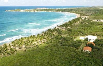 Vendo Terrenos De Playa, En Punta Cana
