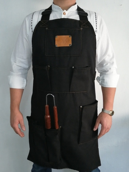 Mandil Para Chef, Cocineros, Parrilleros, Bbq, C. Asada