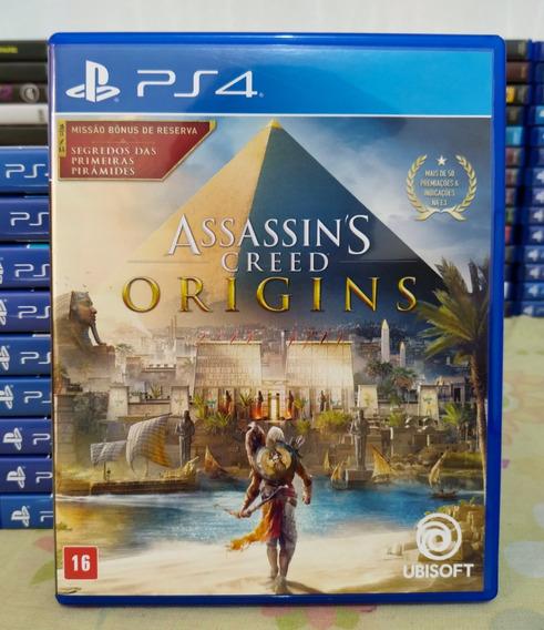 Assassins Creed Ac Origins Ps4 - Mídia Física Em Português