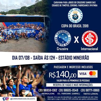 Caravana Cruzeiro X Inter, Vale Do Aço
