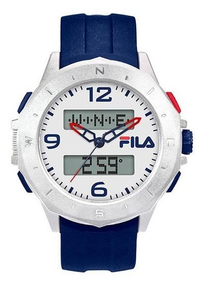 Relógio Fila 30-150 Masculino, Hora-mundi, Bússola Digital.
