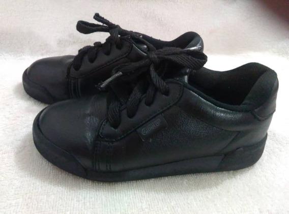 Zapato Escolar Para Niña Usado.