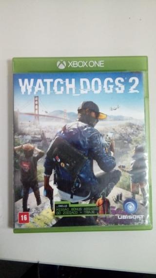 Games Jogos Xbox One Xboxone Xbox 1 Xbox1 Usado Watch Dogs 2