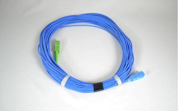 Cordão Optico Monofibra Sm Sc-apc/sc Spc 20 Metros