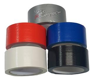 Cinta Adhesiva Ductape Proteam 48mm X 10m Varios Colores