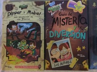 Paquete 4 Libros Gravity Falls Cómic 1, Diario 3