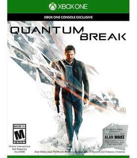 Quantum Break Xbox One Juego Fisico Nuevo Sellado.