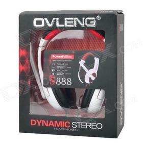 Headset Gamer Universal S888 Com Microfone Ovleng