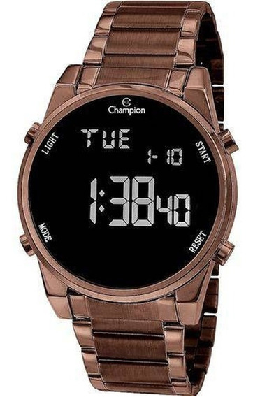 Relógio Digital Feminino - Champion Led Vermelho - Ch40071r