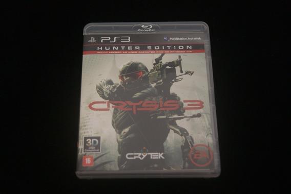Jogo Ps3 - Crysis 3 Hunter Edition