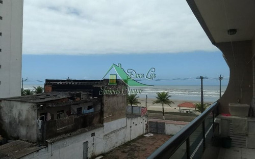 Ótimo Apartamento De 103 M². Frente Para Praia. Mongaguá Centro.