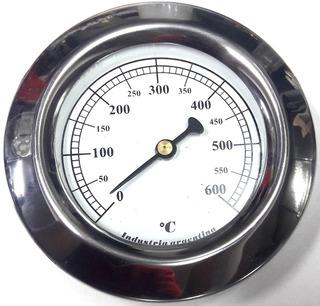 Pirometro Termometro Para Horno De Barro Hasta 600° Mecanico