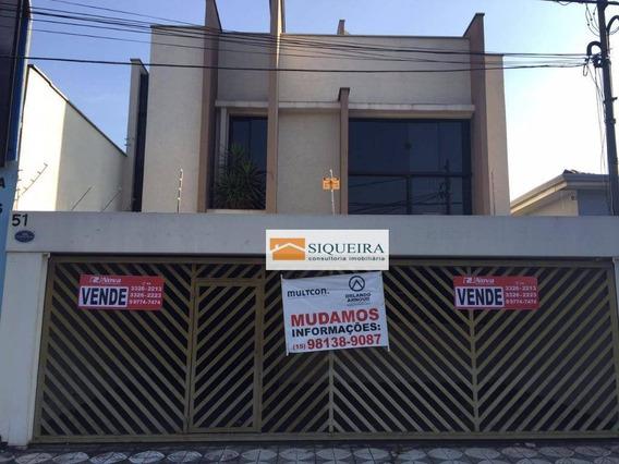 Casa À Venda, 200 M² Por R$ 900.000,00 - Vila Trujillo - Sorocaba/sp - Ca0030