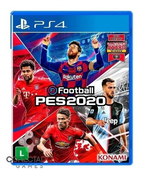Pes 20 Ps4 Pro Evolution Soccer 2020 Mídia Física