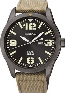 Seiko Essentials Solar Sne331 Reloj Hombre