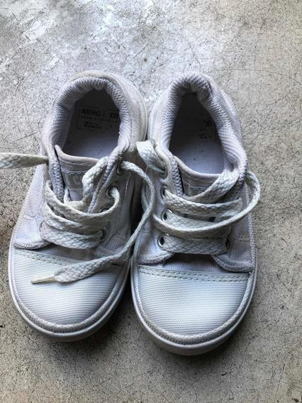 Zapatillas Blancas Mimo T 25