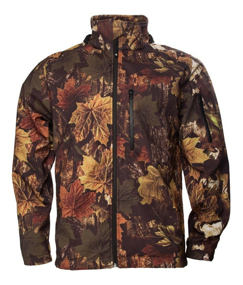 Campera Camuflado / Capucha Impermeable Y Respirable Forest®