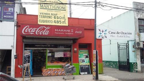 Imagen 1 de 6 de Local En Venta En Pilar Centro Zona Comercial