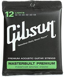 Gibson Masterbuilt Premium Phosphor Bronze Guitarra Acústica
