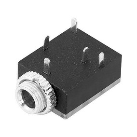 Conector Jack Stereo P2 Femea Original (3,5mm)
