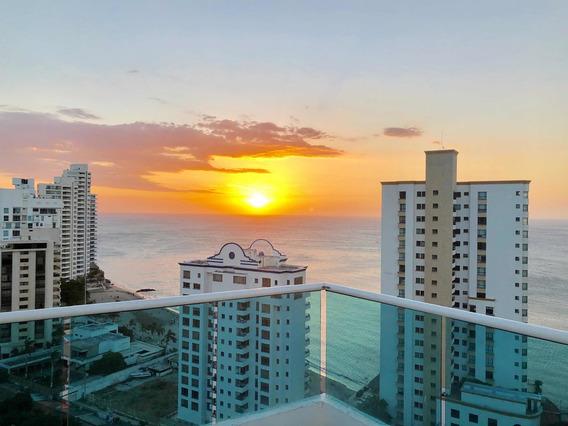 Alquilo Lujoso Apartamento Vista Mar Rodadero Zona Esclus