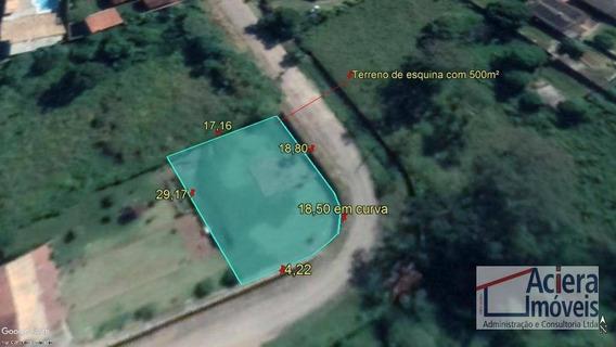 Granja Clotilde - Oportunidade Para Construir Galpão - Terreno Com 500 M²! - Te1245