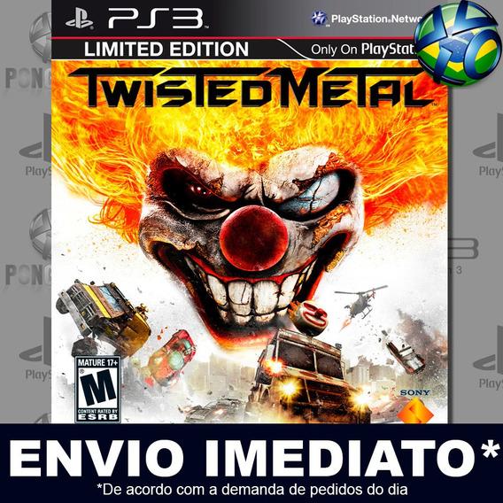 Twisted Metal Ps3 Psn Jogo Em Promoção A Pronta Entrega