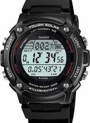 Relógio Casio Ws200h-1bv Tough Solar - Energia Solar