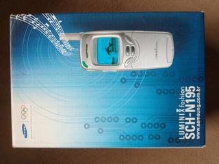 Samsung Luminix Sch-n195 Cdma