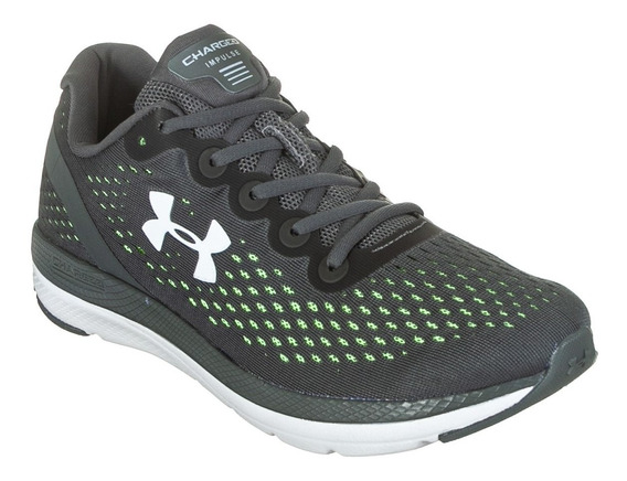 Tênis Under Armour Masculino Charged Impulse Gray 3023