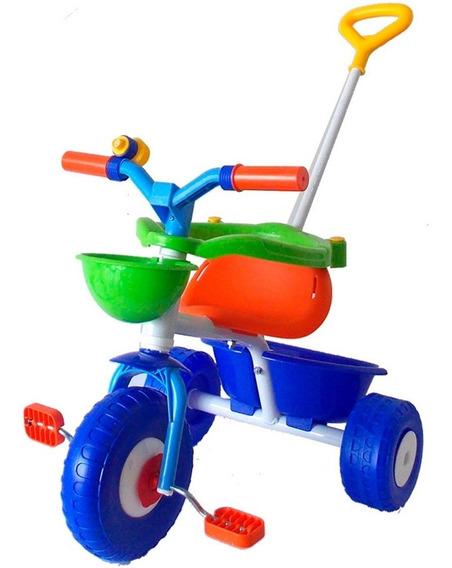 Triciclo Rondi Blue Metal Sporty Original Nuevo 3075 Bigshop