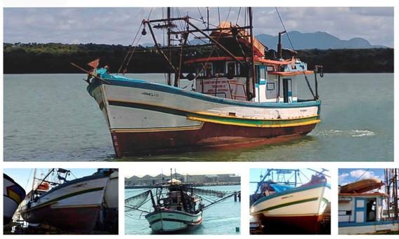 Barco De Pesca Arrastão De Camarão Com Licença Para Rosa Etc