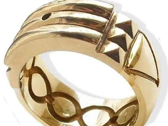 Anillo Atlante De Oro De 14 Kilates - El Autentico