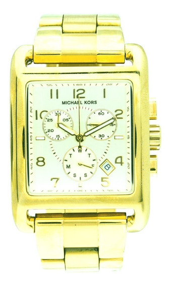 Relógio Luxo Michael Kors Mk5436 Orig Chron Anal Gold!!!