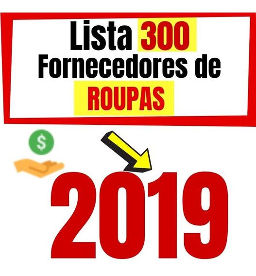 300 Fornecedores 2019 Atualizada