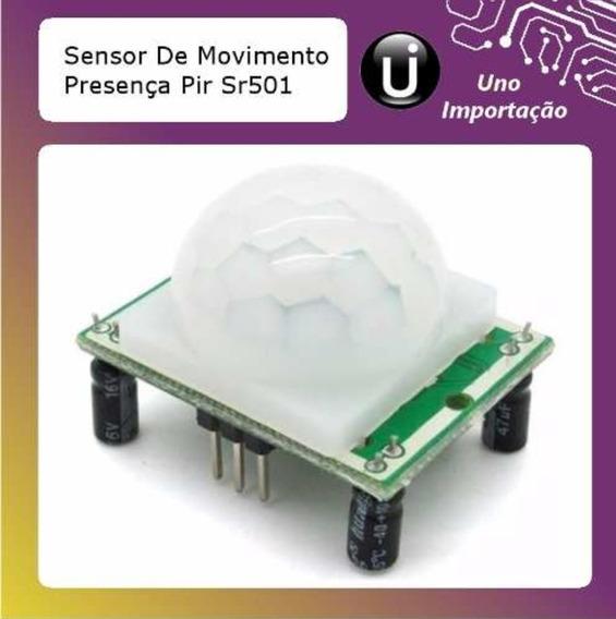 Sensor Movimento Presença Pir Sr501 Arduino
