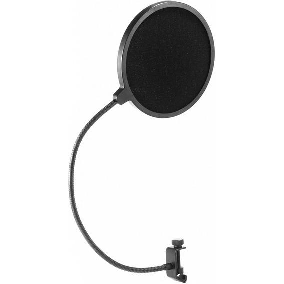 Tela Pop Filter Com Pescoço Turbo Ms-65 Para Microfone
