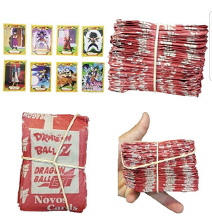 Card Dragon Ball Z Gt + De 45 Pacotes Fechado Card Goku Novo