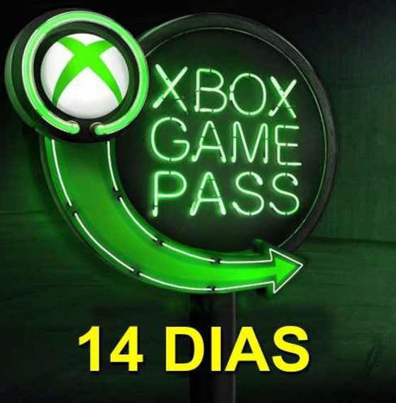 Game Pass 14 Dias Xbox One 100% Original