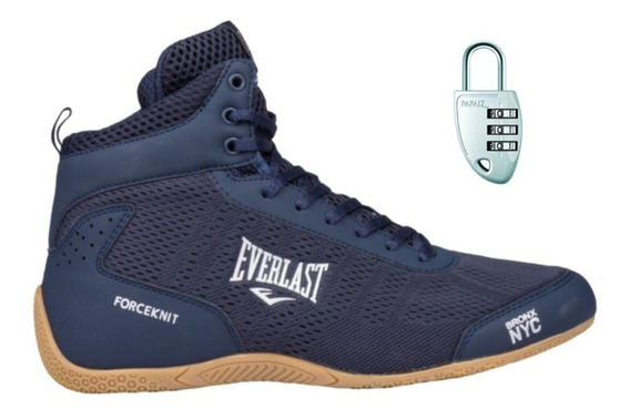 Tênis Botinha Everlast Forceknit+ Cadeado Segredo Kit Treino
