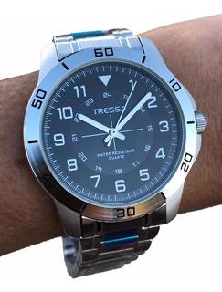 Reloj Tressa Gales Malla Metal Caballero 06 - Casa Tagger