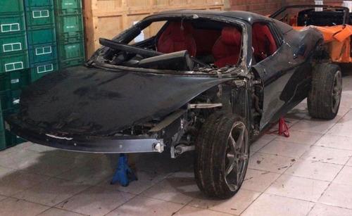 Ferrari 458 2013 - Sucata Para Venda De Peças