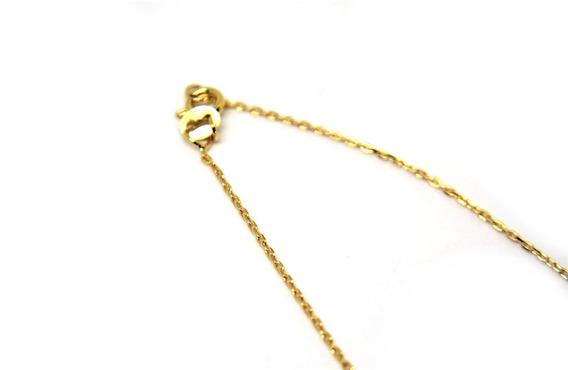 Cordão Cartier Ou Cadeado Ouro 18 K Com 50 Cm