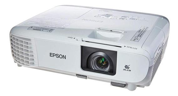 Projetor Epson Powerlite W39, 3500 Lumens, Hdmi, Usb, Wi-fi