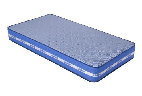Imagen 1 de 8 de Colchon Blue Individual - Azul Këssa Muebles