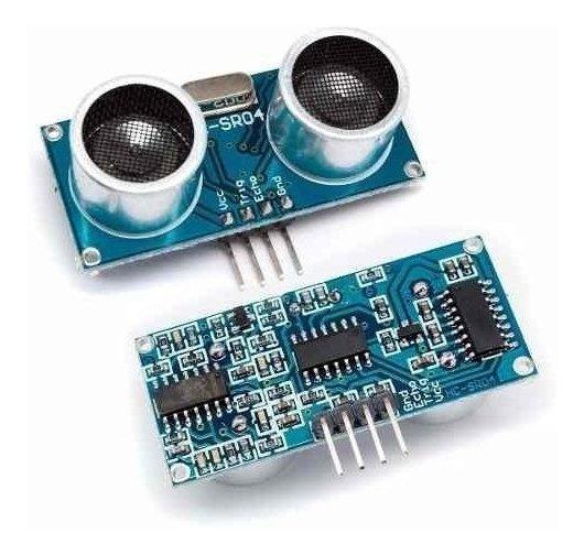 2x Módulo Sensor Ultrassônico Hc-sr04
