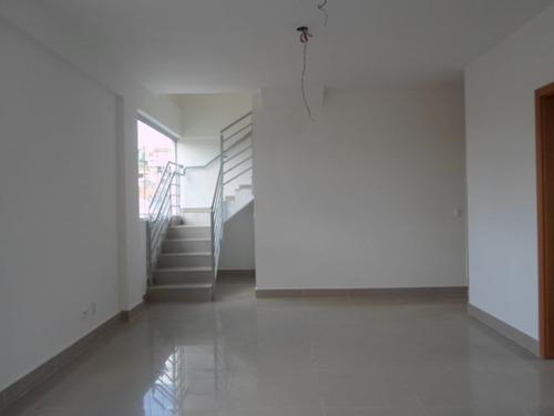 Cobertura Com 3 Quartos Para Comprar No Nova Granada Em Belo Horizonte/mg - Vis275